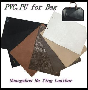 High Quality Synthetic PVC Leather for Bag, Footwear, Wallet, Garment. pictures & photos