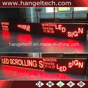 """Outdoor Water Proof Programmable Scrolling LED Message Banner Sign for Advertising (48X160 dots, 20""""X65"""")"""