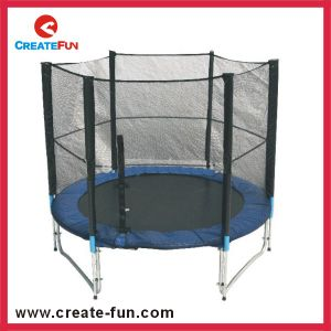 Createfun Cheap Outdoor 6ft Trampoline with Safety Net