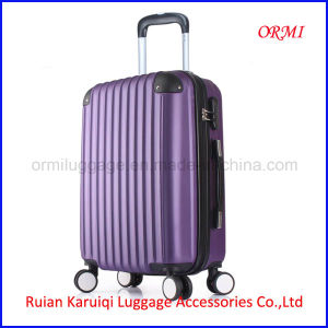 Wholesale ABS Travel Trolley Luggage pictures & photos