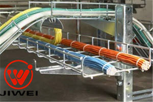 Electrical Galvanized Wire Basket Cable Tray and Accessories
