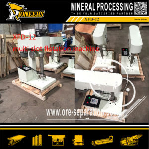 Xfd-12 Multi Slot Laboratory Ore Testing Froth Flotator for Sale pictures & photos