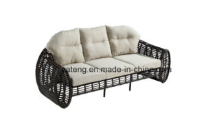 New Design Hot Selling Synthetic Rattan Outdoor Furniture Sofa Set Using for Garden & Hotel by Sinle/Double/3-Seat (YT609) pictures & photos