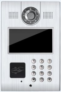 "TCP/IP 7"" TFT Color Video Door Phone Intercom Doorbell Home Security pictures & photos"