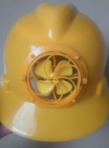 Special Safety Helmet with Fan, Safety Helmet for Construction Workers with OEM Quality Ce, Factory Supply Top Quality Safety Cap with Fan