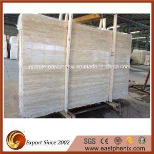 Turkey White Trevertine Marble Stone Tile for Countertop pictures & photos