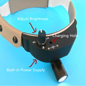 Dental Surgical Headlight LED Headlamp Black Medical Lab Equipment pictures & photos