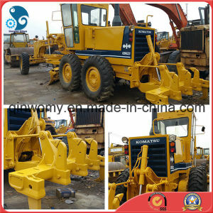 Original-Paint 12ton Japan-Make Komatsu-Diesel-Engine Used 40~400ton/H Komatsu Gd623A Motor Grader pictures & photos