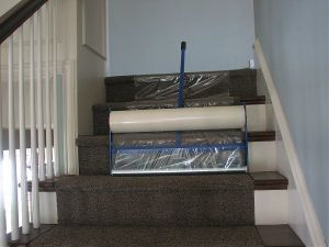PE Carpet Masking Film Carpet Protection pictures & photos