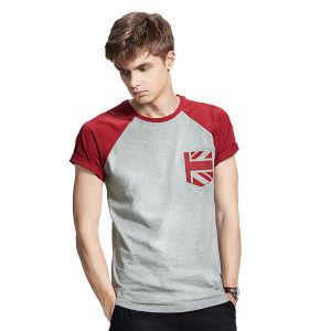 New Design Pure Cotton Fashion Men Tees Shirt pictures & photos