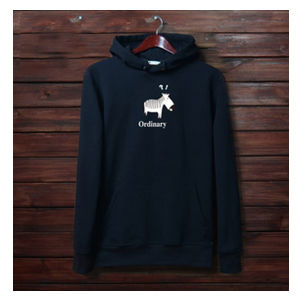 100% Cotton Mens Cheap Hoody Fuzzy Hooded Sweatshirts pictures & photos