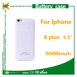 5000mAh Mobile Phone Battery Charger Case for iPhone 6 Plus pictures & photos