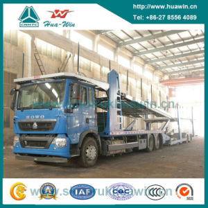 Sinotruk HOWO Car Carrier Truck Centre Axle Car Carrier Car Transport Truck pictures & photos