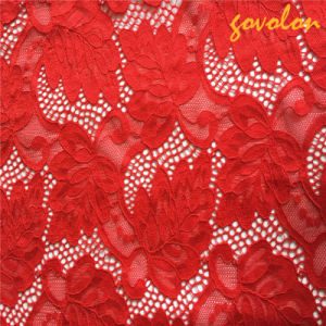 Hot Selling Nylon Lace Fabric pictures & photos