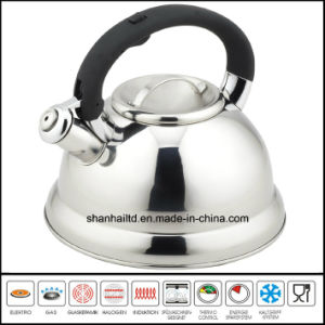 5 L Large Stainless Steel Whistle Kettle pictures & photos
