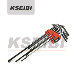 High Quality Kseibi 9-PC Extra Long Hex Key Wrench Set pictures & photos