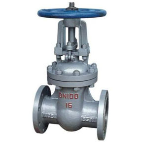 Slab Flanged Flanged Stainless Steel Gate Valve pictures & photos