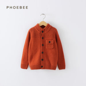 Phoebee Wool Children Clothes Fashion Clothing for Boys pictures & photos