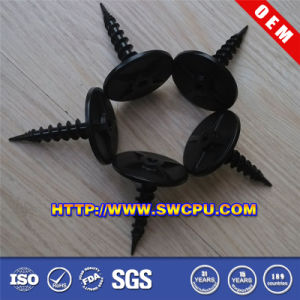 Plastic Crossed Round Head Screw (SWCPU-P-S017) pictures & photos