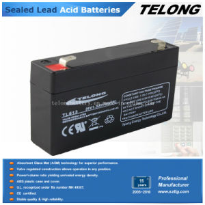 6V1.3ah Rechargeable Sealed Lead Acid Battery for Electric Scale pictures & photos