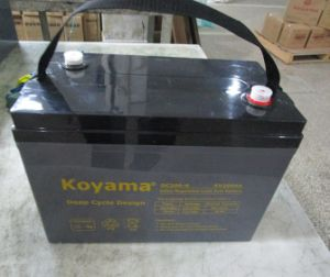 6V 200ah Marine Battery Deep Cycle AGM Boat Battery pictures & photos