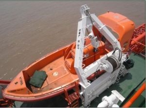 Lacs Approvals F. R. P Single Arm Open Rescue Boat Lifeboat pictures & photos