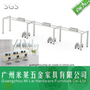 Cheaper Price Metal Frame Office Furniture Staff Table pictures & photos
