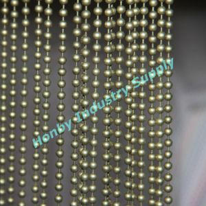 Decorative 8mm Antique Bronze Metal Bead Chain Curtain