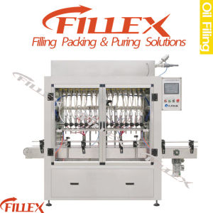 Pet Bottle Linear Type Sunflower Oil Filling Machine pictures & photos