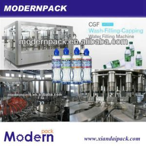 Triple Automatic Spring Water Filling Line pictures & photos