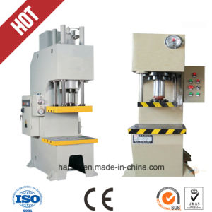 Single Column Hydraulic Stamping Single Punch Press pictures & photos