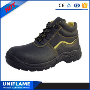 Black Sbp Cotton Linning Winter Safety Shoes Ufa020 pictures & photos