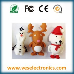 USB Flash Driver 8GB Christmas Gift USB Pen Drive pictures & photos