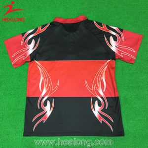 Healong Stylish Sublimated Printing Polo Shirt pictures & photos