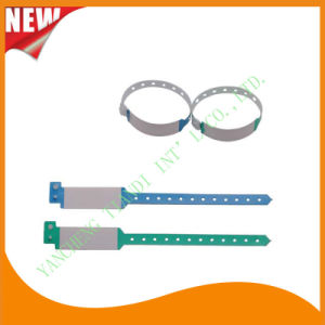 Hospital Promotional Write-on Plastic ID Bracelet Wristbands Bands (8020B5) pictures & photos