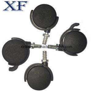 Black Grey Industrial Break Rubber Caster Wheel pictures & photos
