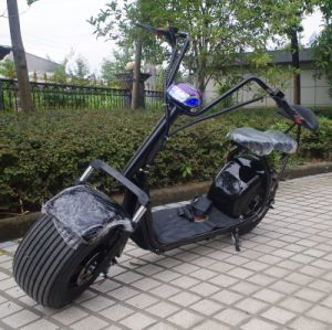Made in China 1000W Fat Tyre Electric Scooter City Coco (JY-ES005) pictures & photos