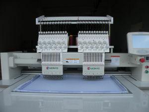 2 Heads 9/12/15 Needles Cap /T-Shirt / Flat Embroidery Machine as Good as Feiya Machine pictures & photos