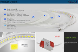 6W 12W 18W Round LED Panel Light pictures & photos