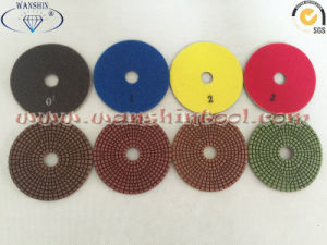 4-Step High Quality Diamond Polishing Pads Diamond Tools pictures & photos