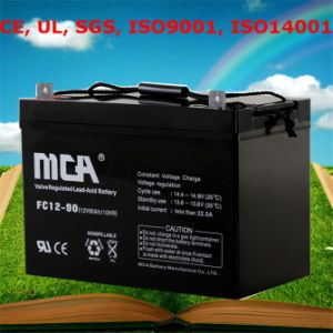 36V Deep Cycle Battery Cheap Rechargeable Battery 90ah pictures & photos
