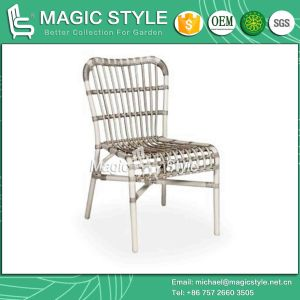 Wicker Chair Dining Chair Rattan Chair Stackable Chair Modern Dining Chair (Magic Style) pictures & photos
