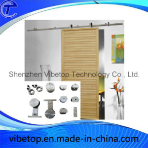 Wooden/Glass Bathroom Sliding Barn Door Hardware Fittings pictures & photos