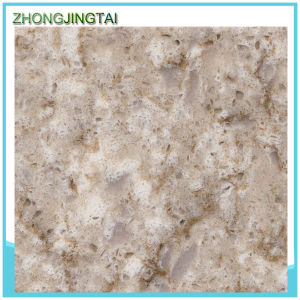 Glory Popular Resin Vein Artificial Stone Quartz Tiles pictures & photos