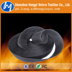 25mm High Quality Flame Retardant Hook & Loop Velcro pictures & photos