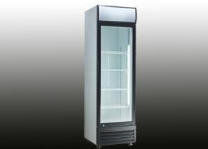 380L Glass Door Upright Fridge Showcase pictures & photos