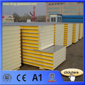 House Prefabricated PU Sandwich Panel Price pictures & photos