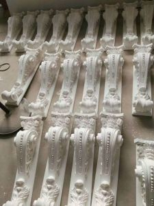 PU Exotic Corbels White Color Polyurethane Material for Home Decor pictures & photos