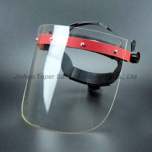 Face Shield Acrylic Screen Ratchet Suspension Face Mask pictures & photos