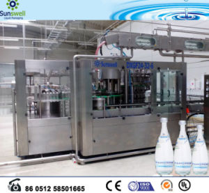 Full Automatic Carbonated Soft Drink Filling Machine 3in1 pictures & photos